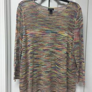 New Gorgeous NEW DIRECTIONS open stitch sweater
